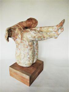 Ingrid Dusselber_Summer Dreams_ 61x48x40_stoneware clay,slips_$2900