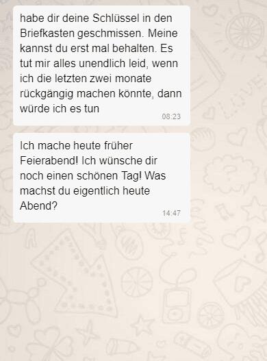 Ex  zurück - SMS