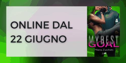 Segnalazione | My best goal di Milena Zucchetti