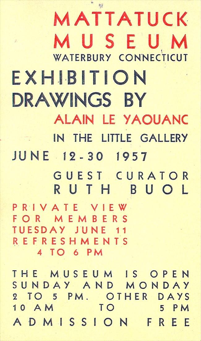 Premières expositions aux États-Unis