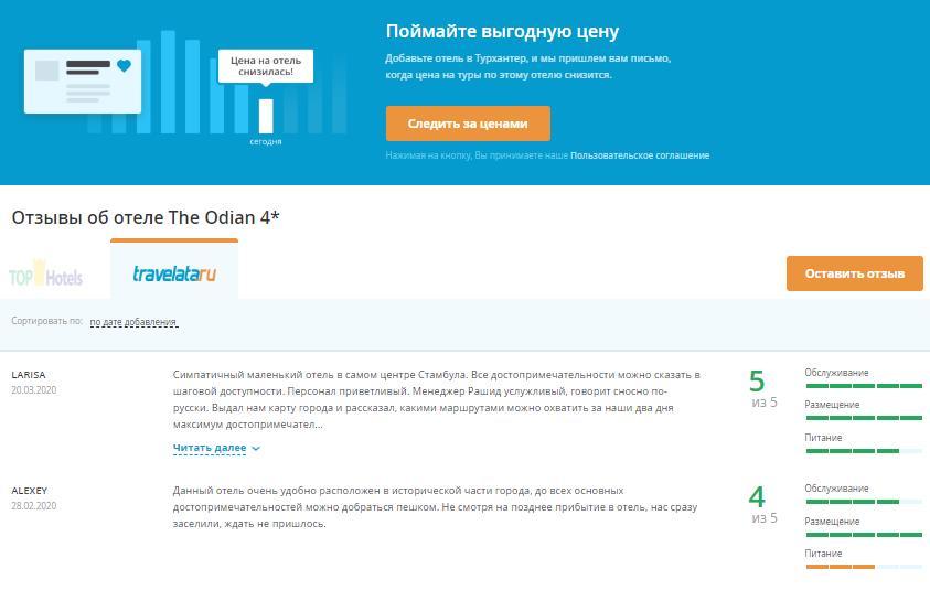Отзывы об отеле The Odian