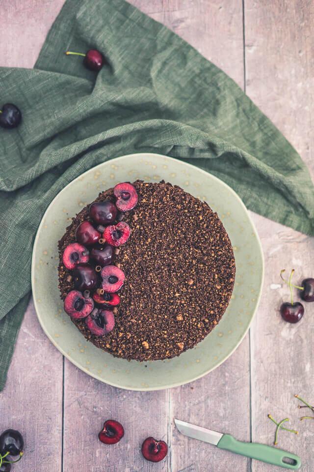 Schoko-Kirsch-Kuchen