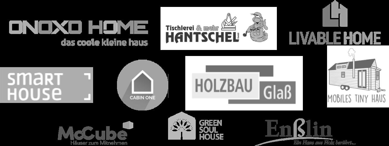 Das Bild zeigt Logos von verschiedenen  Anbietern