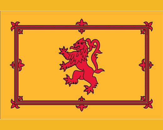 seconda bandiera della Scozia