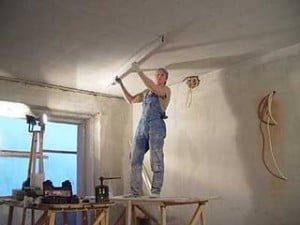 Фото ремонта и отделки потолока