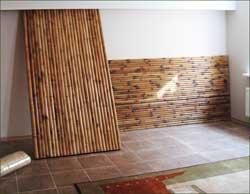 Готовые панели из пробки и бамбука для внутренней отделки стен