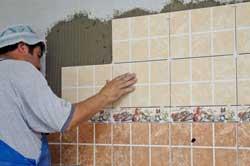 Качественная отделка стен плиткой