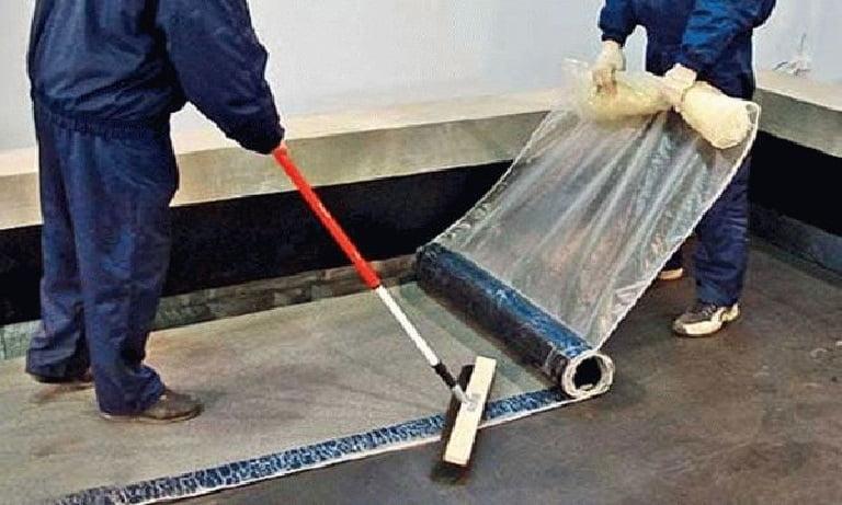 Рулонная гидроизоляция на битумной основе