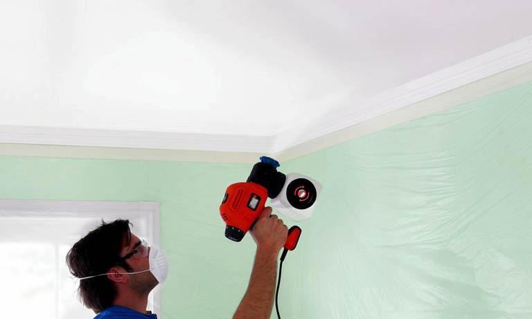 Покраска потолка популярна во все времена