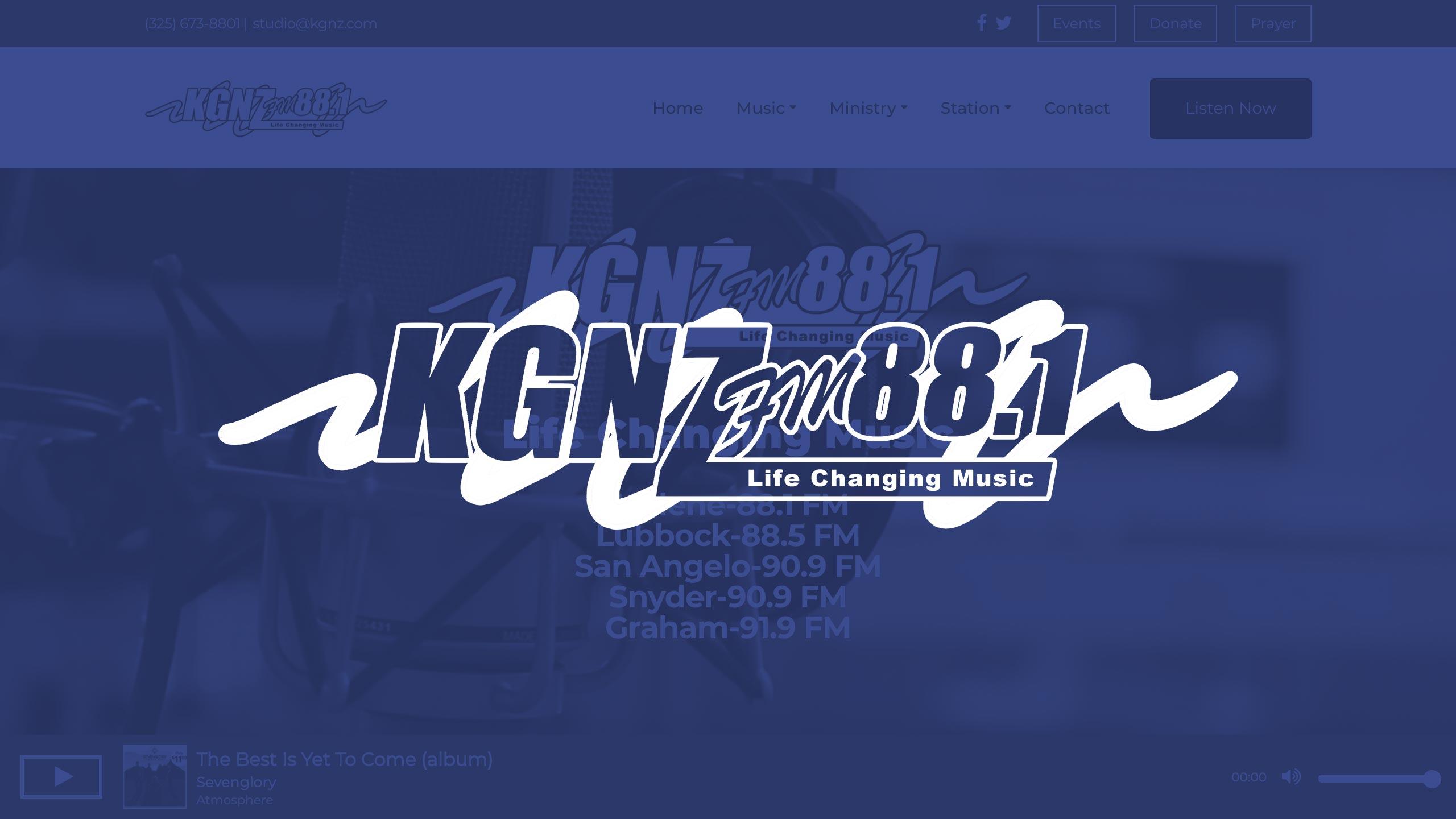 Web Development – KGNZ Radio