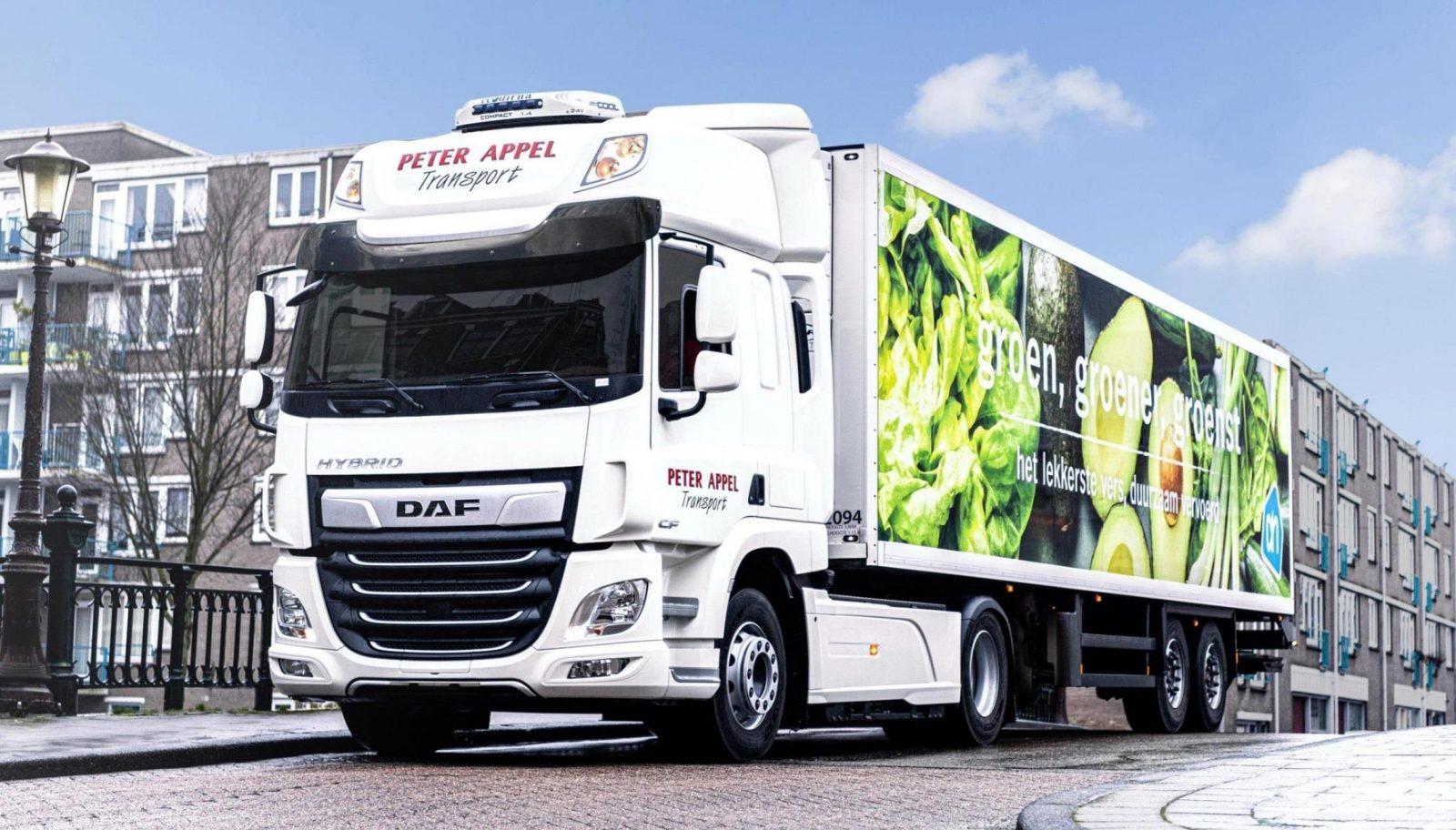 DAF оголосила про початок експлуатаційних випробувань CF Hybrid