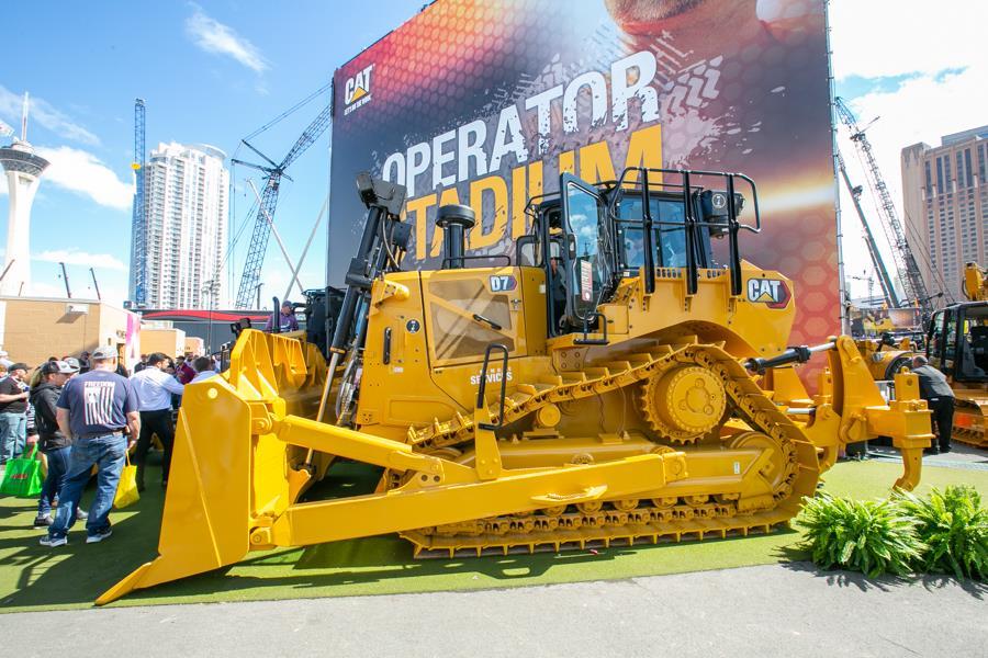 Caterpillar представила модернізовані бульдозери D3 і D7