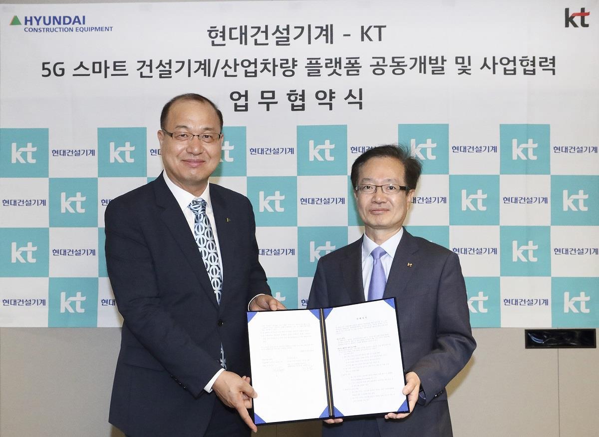 """Hyundai CE працює над розробкою """"інтелектуальної"""" будівельної техніки"""