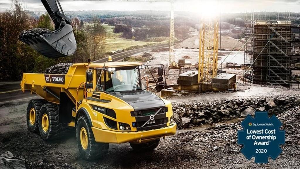 Спецтехника Volvo CE получила престижные награды
