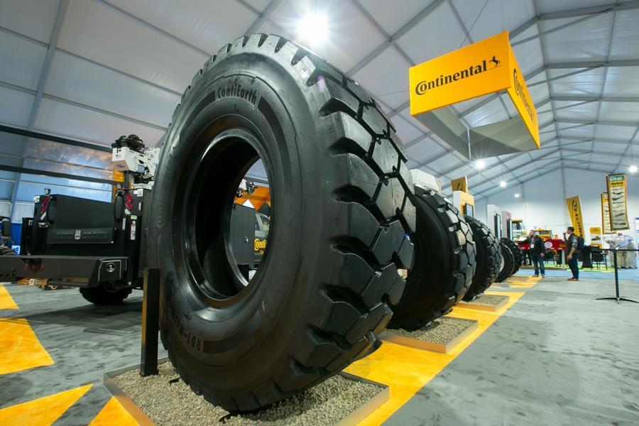 Continental представила нові шини для важкої будівельної техніки