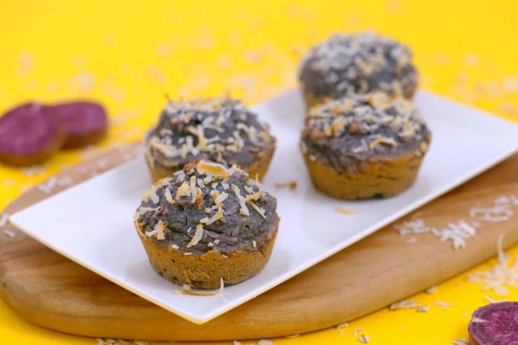 Flourless oatmeal blender muffins, healthy sweet potato muffins, gluten free sweet potato muffins, flourless sweet potato blender muffins, healthy breakfast muffins, sweet potato oatmeal muffins, mind over munch blender muffins, gluten free breakfast muffins, flourless muffins