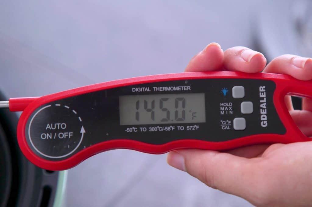 Safe Pork Chops Internal Temperature