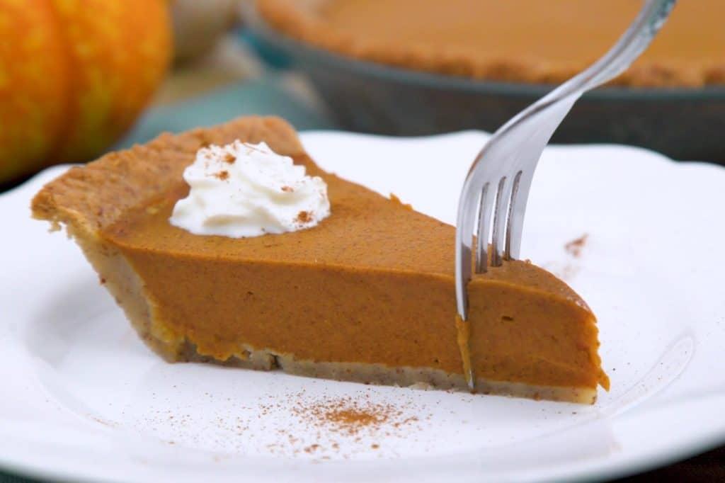 Keto Friendly Pumpkin Pie