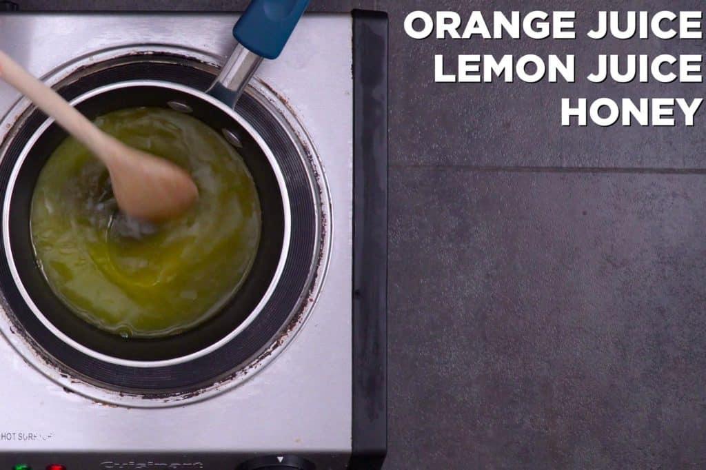 Homemade Citrus Syrup