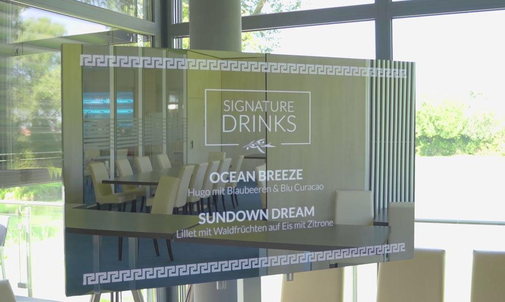 smart mirror event hotel