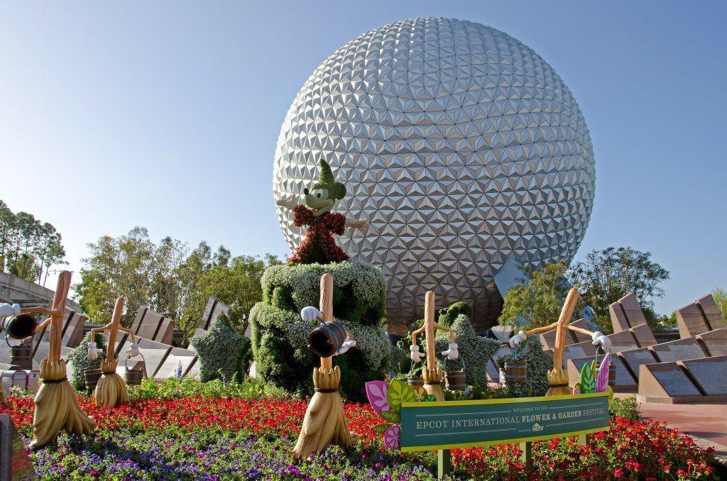 parque de Epcot en Disney World Orlando