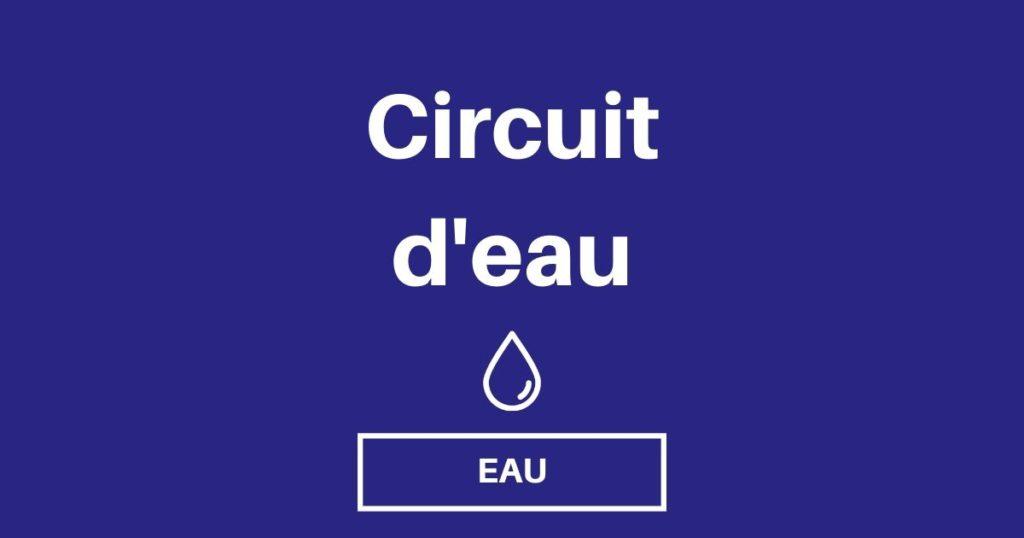 Concevoir son circuit d'eau