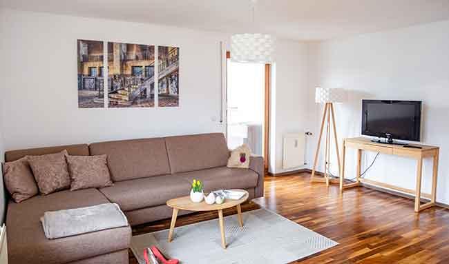 Apartment Singen A16 Wohnzimmer