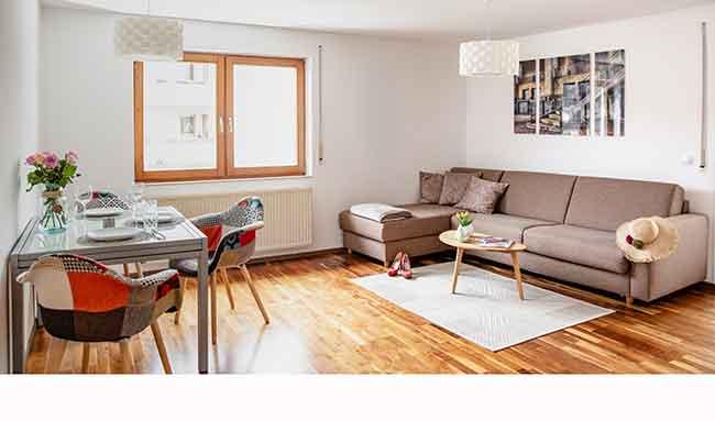 Apartment Singen A16 Wohn-Essbereich