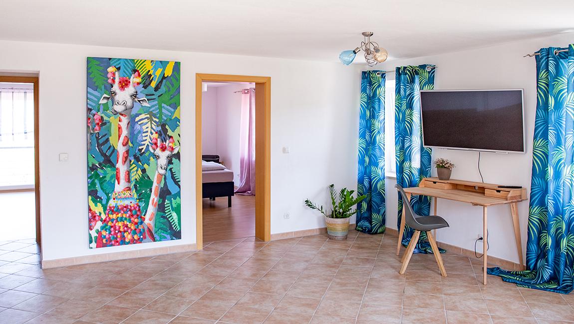 Apartment Gottmadingen A3 Wohnzimmer