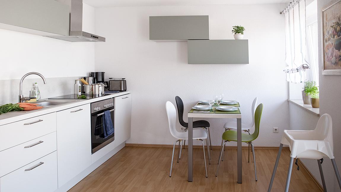 Apartment Gottmadingen A3 Küche Essbereich