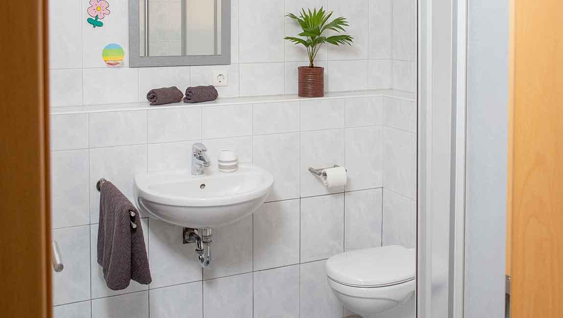 Apartment Gottmadingen A3 Badezimmer