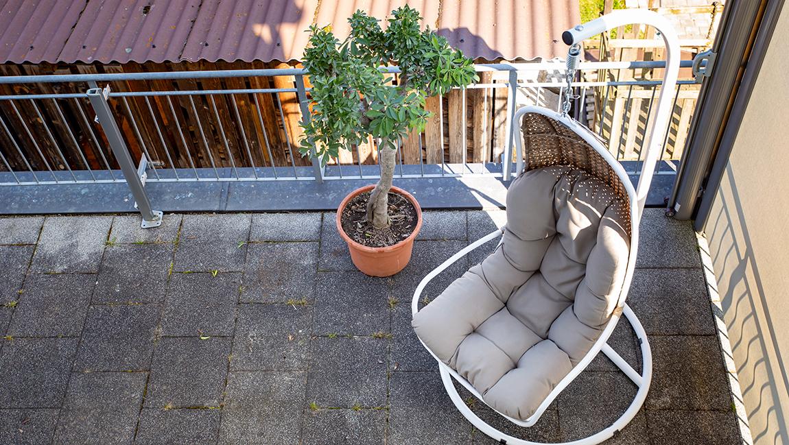 Apartment Gottmadingen A3 Balkon