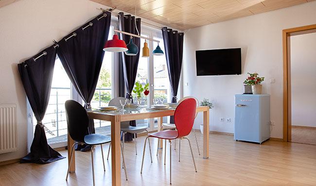 Apartment Gottmadingen A4 Essbereich