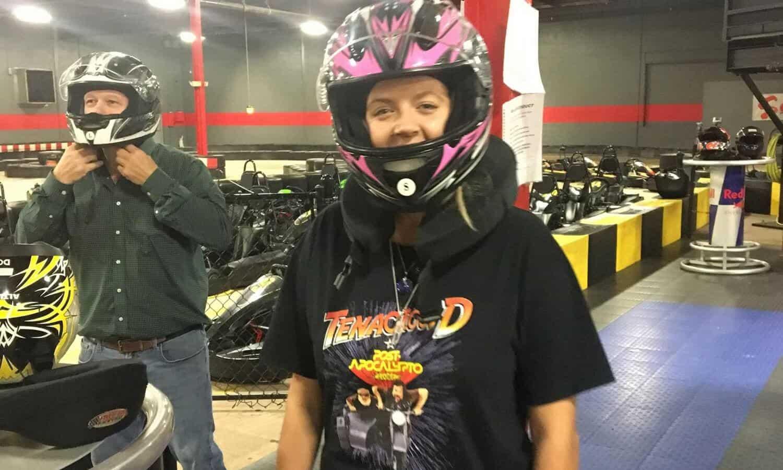 Go kart racing mountainside event kendall