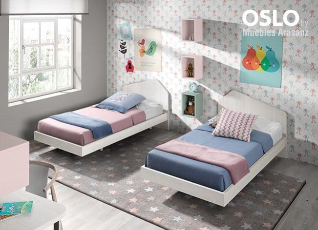 Dos camas clásicas