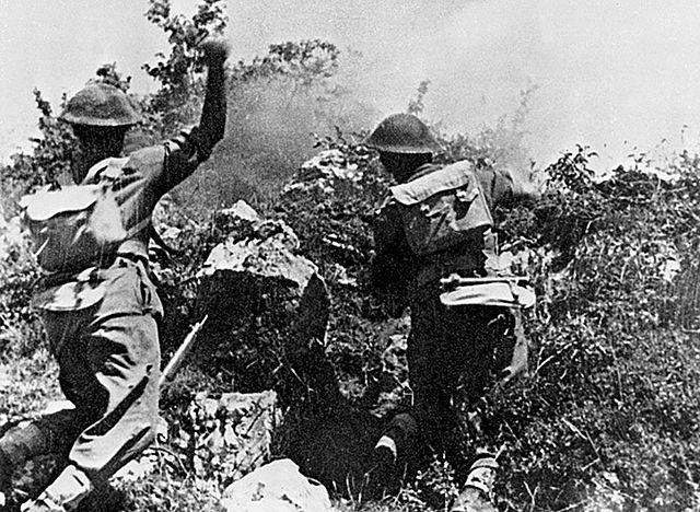 Ostateczny szturm w trakcie bitwy o Monte Cassino