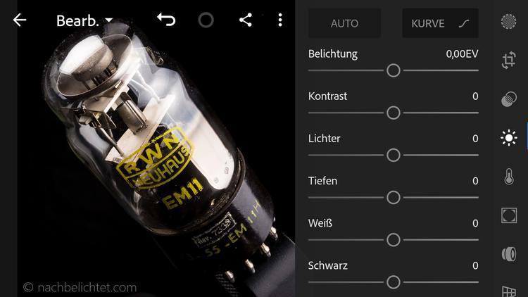 Lightroom fürs iOS löscht Bilder und Presets