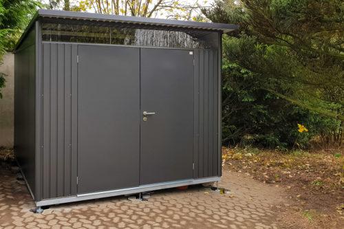 Projektbericht: Unser Biohort Avantgarde XXL Gerätehaus
