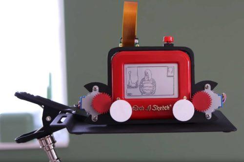 Fotografieren mal anders - Etch-A-Sketch Kamera