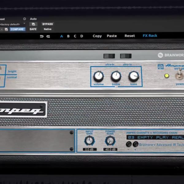 Virtuelles Ampeg SVT-Bassverstärker-Plugin von Brainworx kostenlos herunterladen