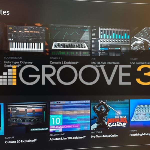 Audio-Software, Musikproduktion und Instrumente mit Groove3 lernen - 15 Tage kostenlos nutzen