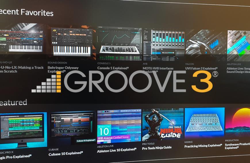 Audio-Software, Musikproduktion und Instrumente mit Groove3 lernen – 15 Tage kostenlos nutzen