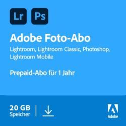 Schnäppchen: 12 Monate Adobe Creative Cloud Foto Pre-Paid 34 % günstiger