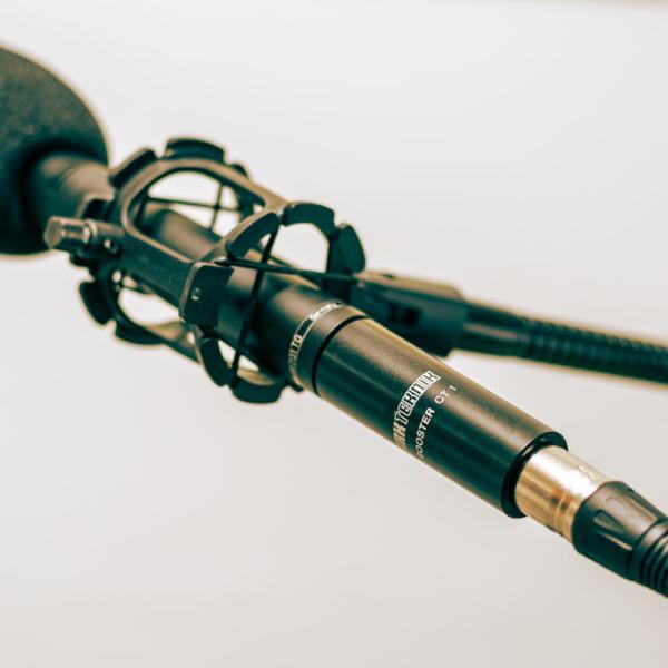 Wie funktionieren Mikrofone und der Klark Teknik Mic Booster CT1 im Test