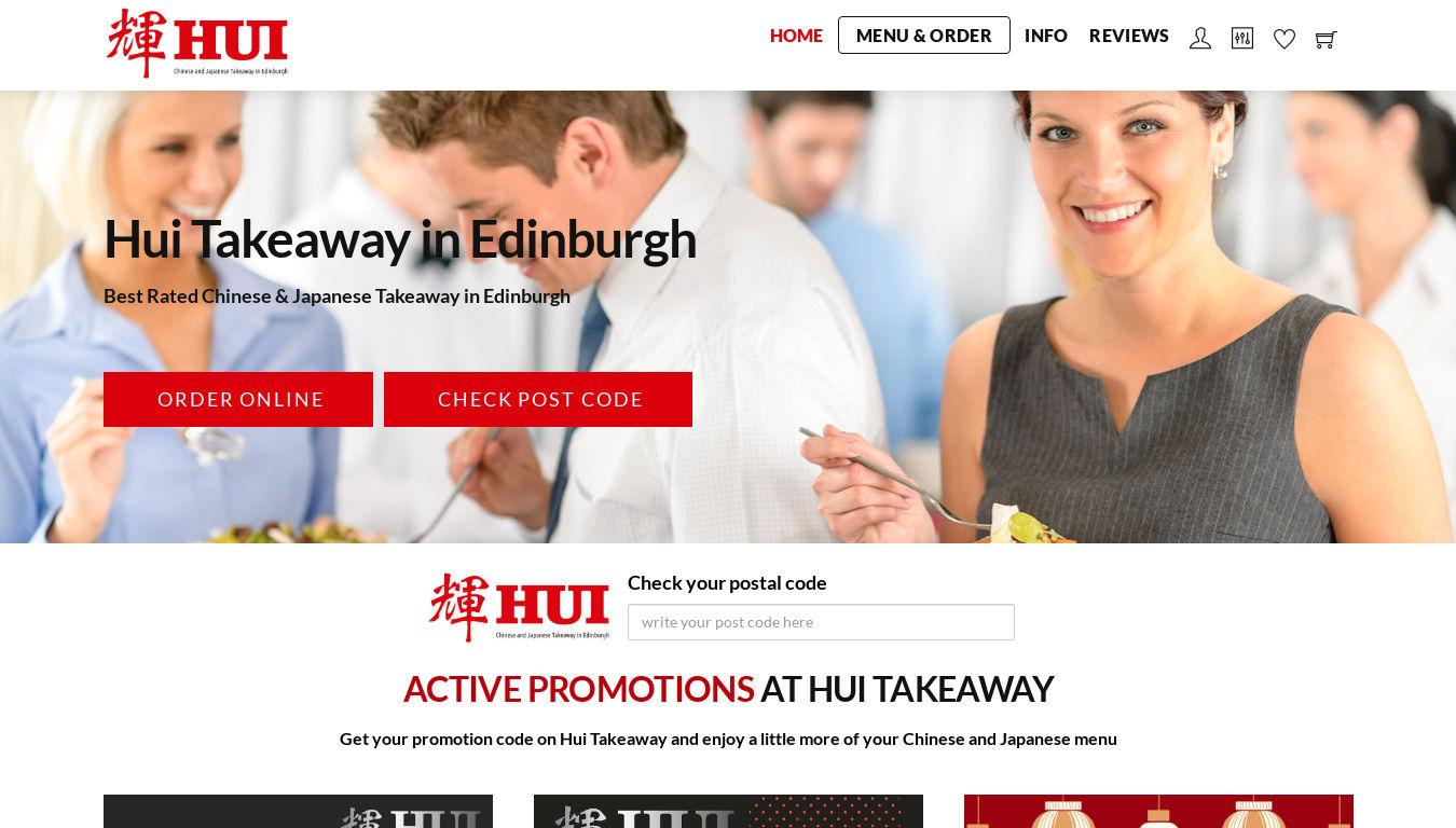 HUI Takeaway Edinburgh