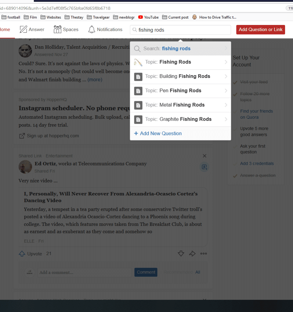 How to do keyword research with Quora