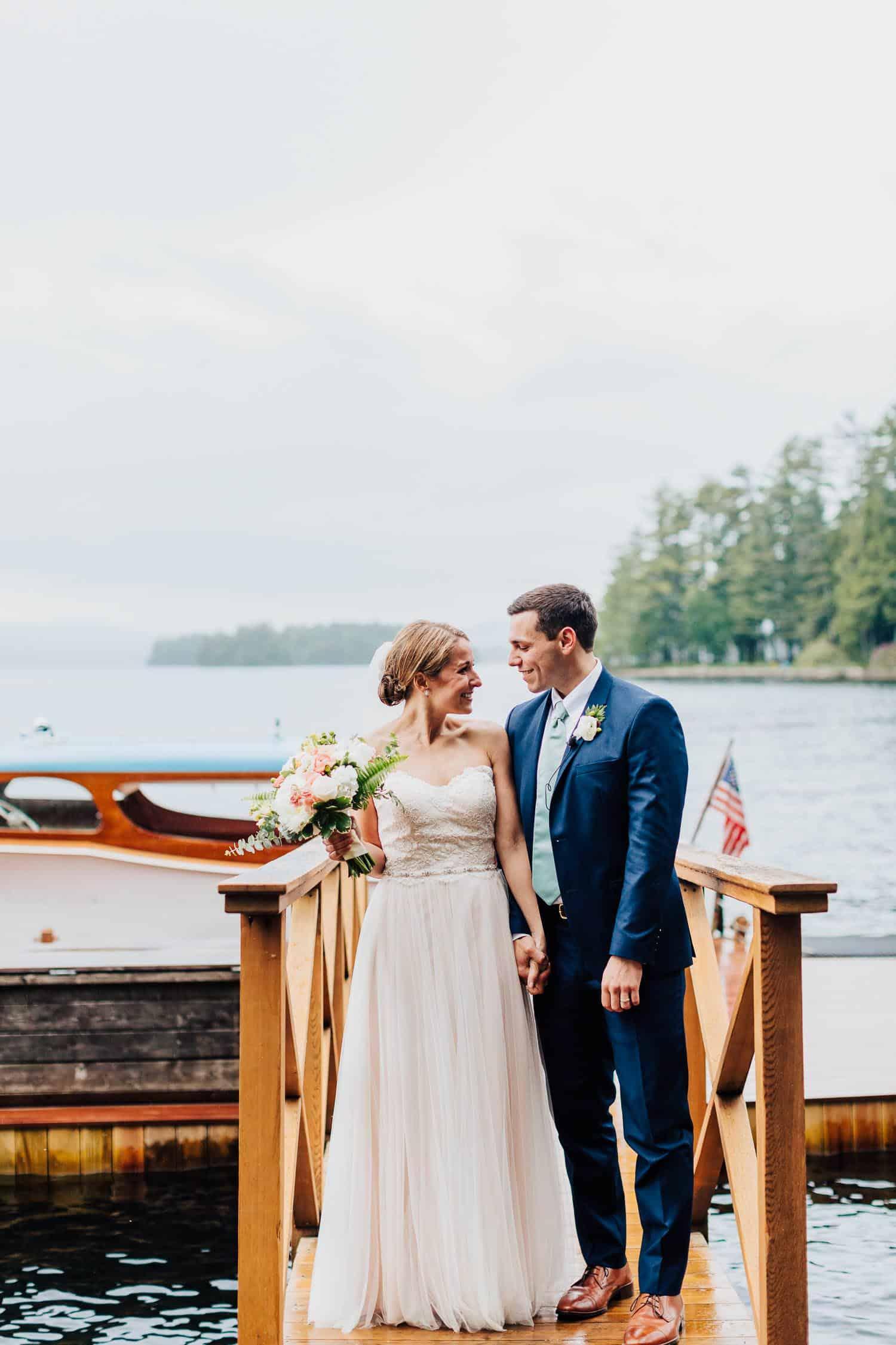 Maine Sebago Lake Wedding Photography