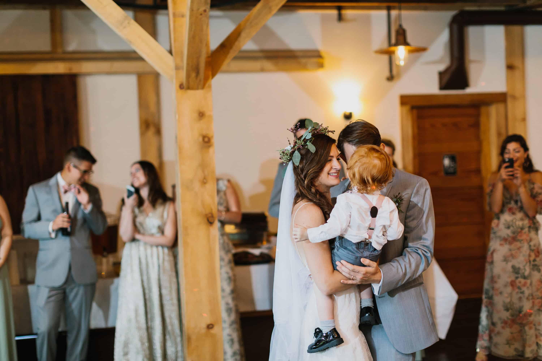 New England Backyard Farm Wedding