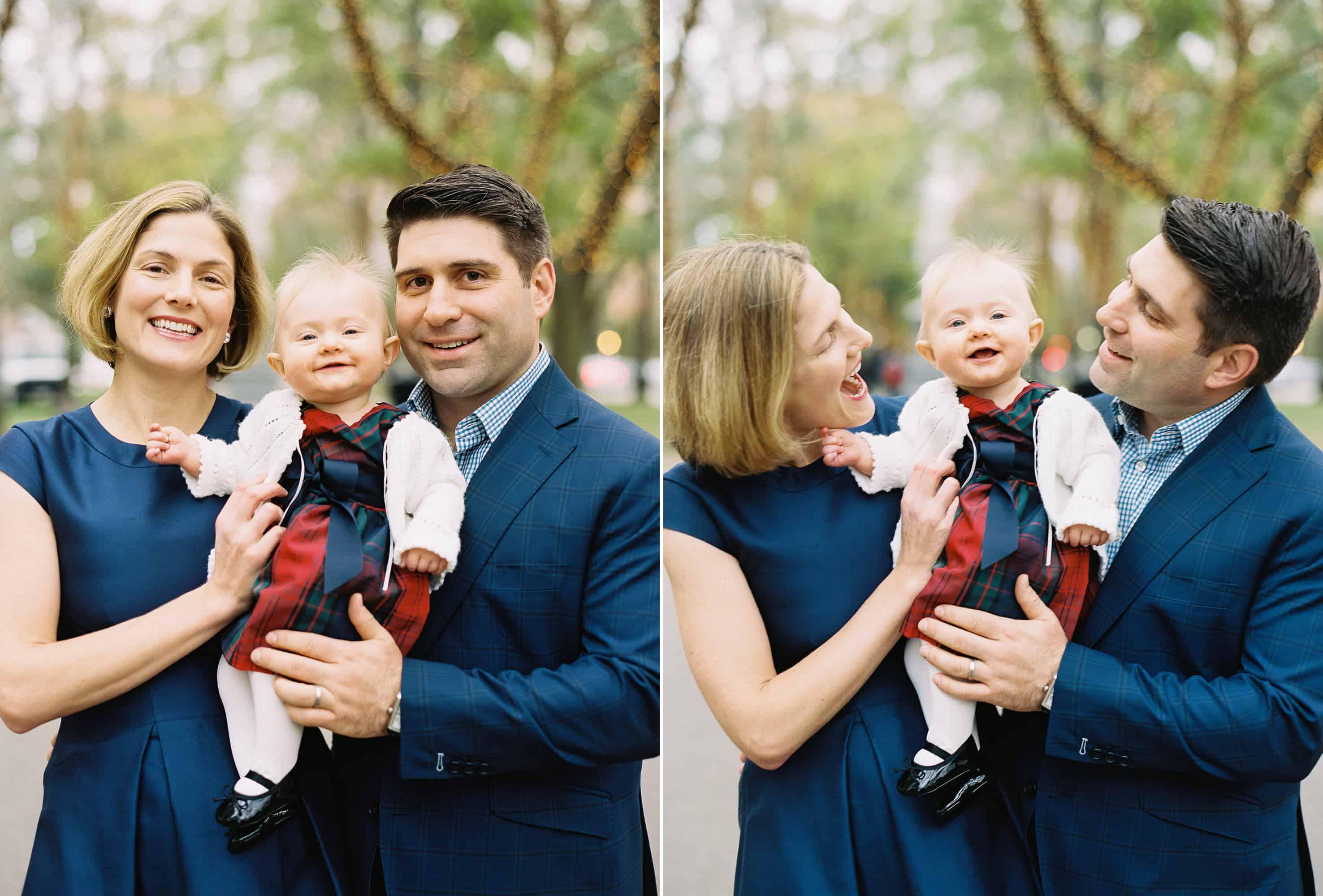 Boston Holiday Family Photos