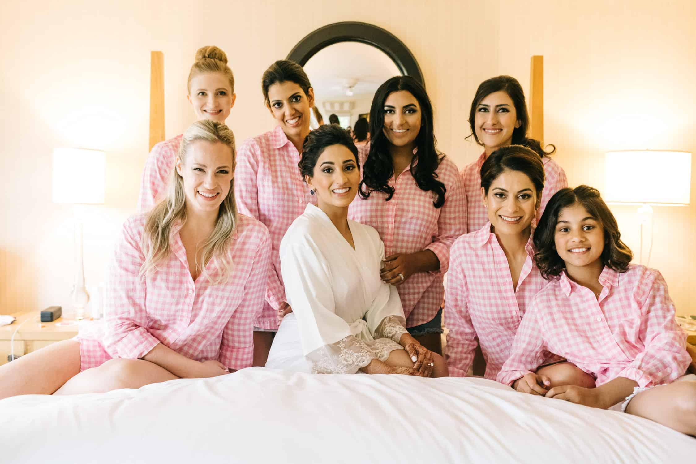 Nantucket bride prep at White Elephant Hotel